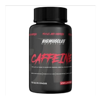 1 - Big Muscles Caffeine,  60 tablet(s)  Unflavoured