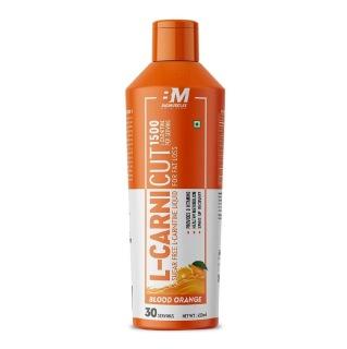 1 - Big Muscles L-Carnicut Liquid 1500,  450 ml  Blood Orange
