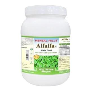 Herbal Hills Alfalfa,  900 tablet(s)