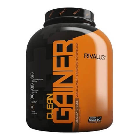 Rivalus Clean Gainer,  Chocolate Fudge  5 lb
