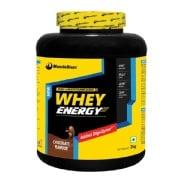 MuscleBlaze Whey Energy with Digezyme,  4.4 lb  Chocolate