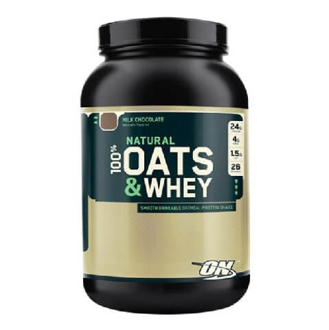 ON (Optimum Nutrition) Natural 100% Oats & Whey,  3 lb  Milk Chocolate
