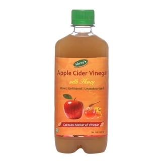 Shrey's Apple Cider Vinegar with Honey,  0.5 L  Unflavoured