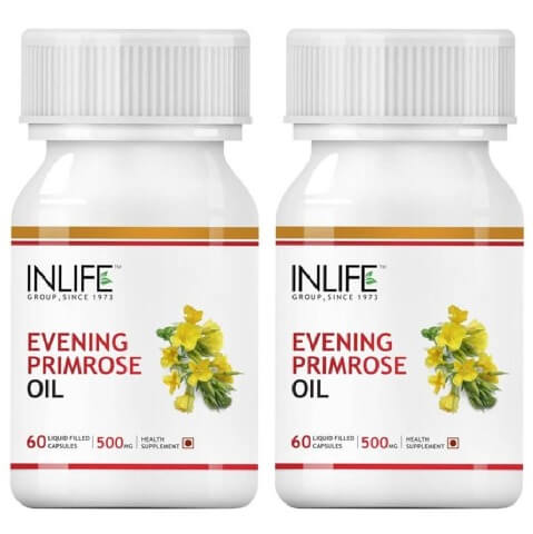 INLIFE Evening Primrose Oil (Pack of 2),  60 capsules