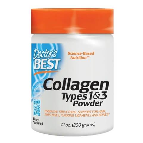 Doctor's Best Collagen Types 1& 3,  200 g  Unflavoured