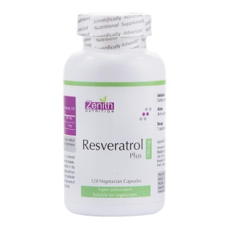 Zenith Nutrition Resveratrol (100 mg),  120 capsules