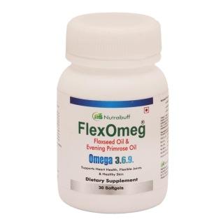 Nutrabuff FlexOmeg,  30 softgels