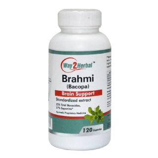 Way2Herbal Brahmi,  120 capsules