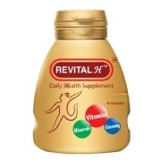 Revital H Daily Health Supplement,  Unflavoured  60 capsules