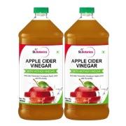St.Botanica Apple Cider Vinegar,  0.5 L  Unflavoured (Pack of 2)