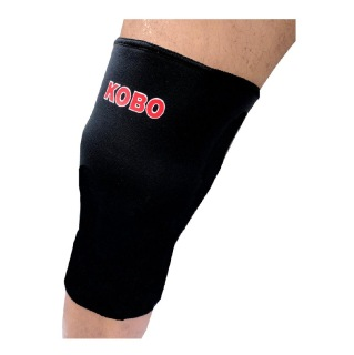 KOBO Neoprene Knee Support (3620),  Black  Large