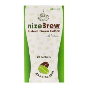 Nutrabuff NizeBrew Instant Green Coffee,  20 sachets/pack