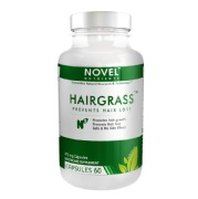 Novel Nutrients HairGrass (475mg),  Unflavoured  60 capsules