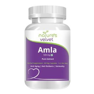 Natures Velvet Amla Pure Extract (500 mg),  60 veggie capsule(s)