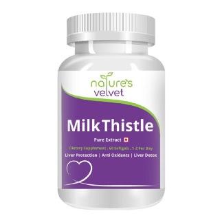 Natures Velvet Milk Thistle Extract,  60 softgels