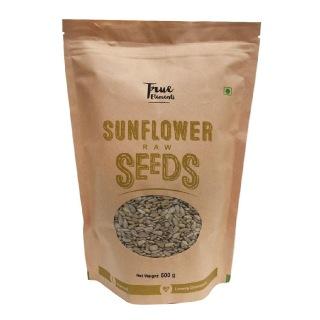 True Elements Sunflower Raw Seeds,  Unflavoured  0.5 kg