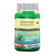Morpheme Remedies Ashwagandha (500 mg),  60 veggie capsule(s)