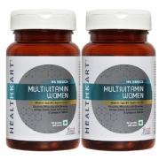 HealthKart Multivitamin Women, Unflavoured 60 tablet s    Pack of 2