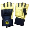 Rocclo Weight Lifting Gloves-5110,  Yellow & Black  Medium