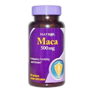 Natrol MACA (500 mg),  60 capsules