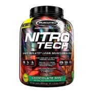MuscleTech NitroTech Performance Series,  4 lb  Chocolate Mint