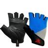 KOBO Gym Gloves (WTG-16),  Blue, Grey & Black  Large