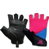 KOBO Ladies Gym Gloves (WTG-17),  Pink, Blue & Black  XL