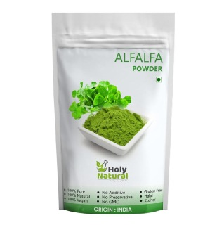 Holy Natural Alfalfa Powder,  0.100 kg