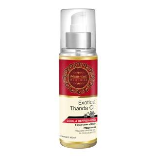 Morpheme Remedies Exotica Thanda Hair Oil,  100 ml  All Type Hair
