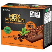RiteBite Max Protein Meal Replacement Bar,  6 Piece(s)/Pack  Green Coffee Beans
