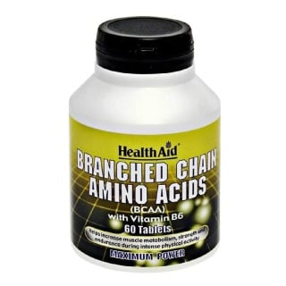 HealthAid Branched Chain Amino Acids,  60 tablet(s)  Unflavoured