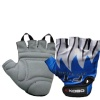 KOBO Weight Lifting Gloves (CG-01),  Blue & White  Small