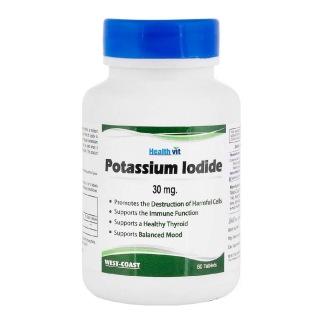 Healthvit Potassium Iodide 30mg,  60 tablet(s)