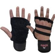 KOBO Weight Training Gloves  3612 , Black Free Size