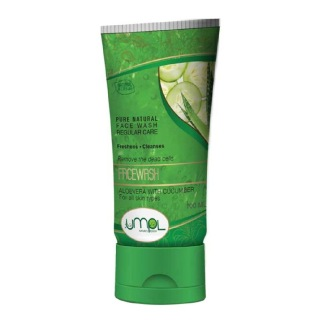 UMPL Aloevera with Cucumber Face Wash,  100 ml  All Skin Type