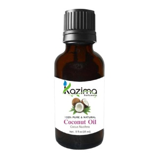 Kazima Coconut Oil,  15 ml  100% Pure & Natural