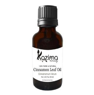 Kazima Cinnamon Leaf Oil,  30 ml  100% Pure & Natural