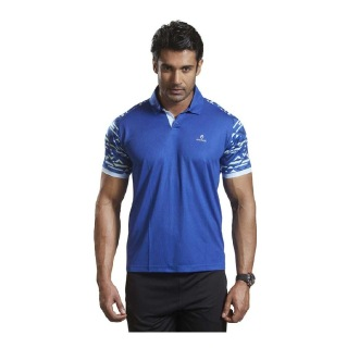 Omtex Active Wear T-Shirts - 1603,  Blue  Large