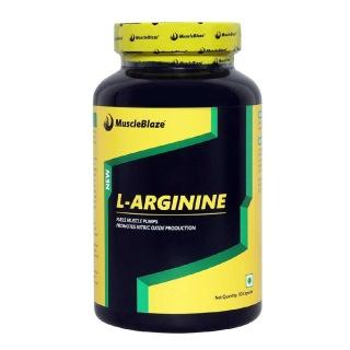 MuscleBlaze L-Arginine,  90 capsules  Unflavoured