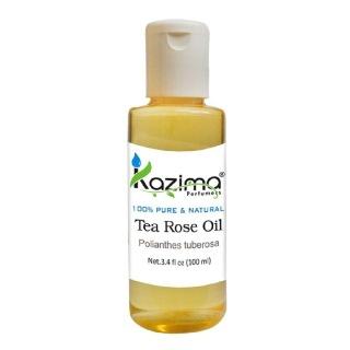 Kazima Tea Rose Oil,  100 ml  100% Pure & Natural