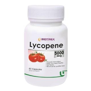Biotrex Lycopene (5000 mcg),  60 capsules