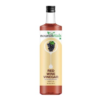 NourishVitals Red Wine Vinegar,  0.500 L  Unflavoured