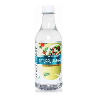 HealthKart Natural White Vinegar,  0.5 L  Unflavoured