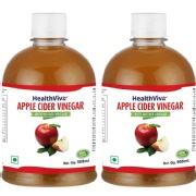 HealthViva Apple Cider Vinegar   Pack of 2