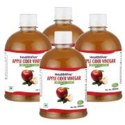 HealthViva Apple Cider Vinegar   Pack of 4