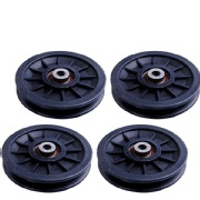 B Fit USA Gym Pulley 4 Inch Set of 4