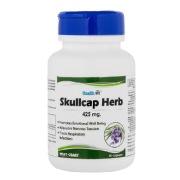 Healthvit Skullcap Herb 425 mg, 60 capsules