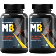 MuscleBlaze L Carnitine L Tartrate 120 capsules Unflavoured   Pack of 2