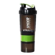 Strauss Spider Shaker Bottle, Green 500 ml