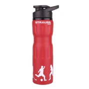 Strauss Stainless Steel Water Bottle, Red 750 ml
